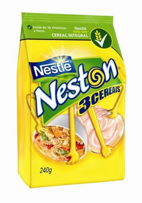Cereal Nestl�Neston 3 cereais 240g sachet